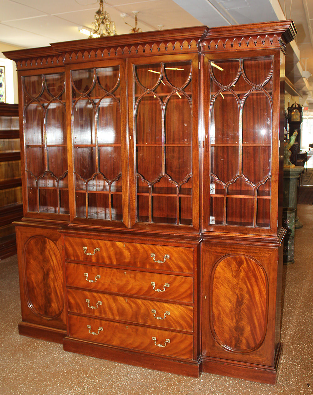 Antique Secretary Desks and Breakfronts