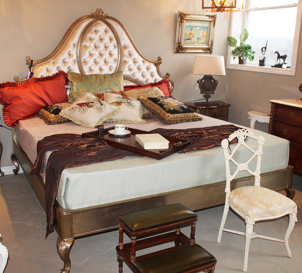 Exciting French Antique Bedroom Furniture