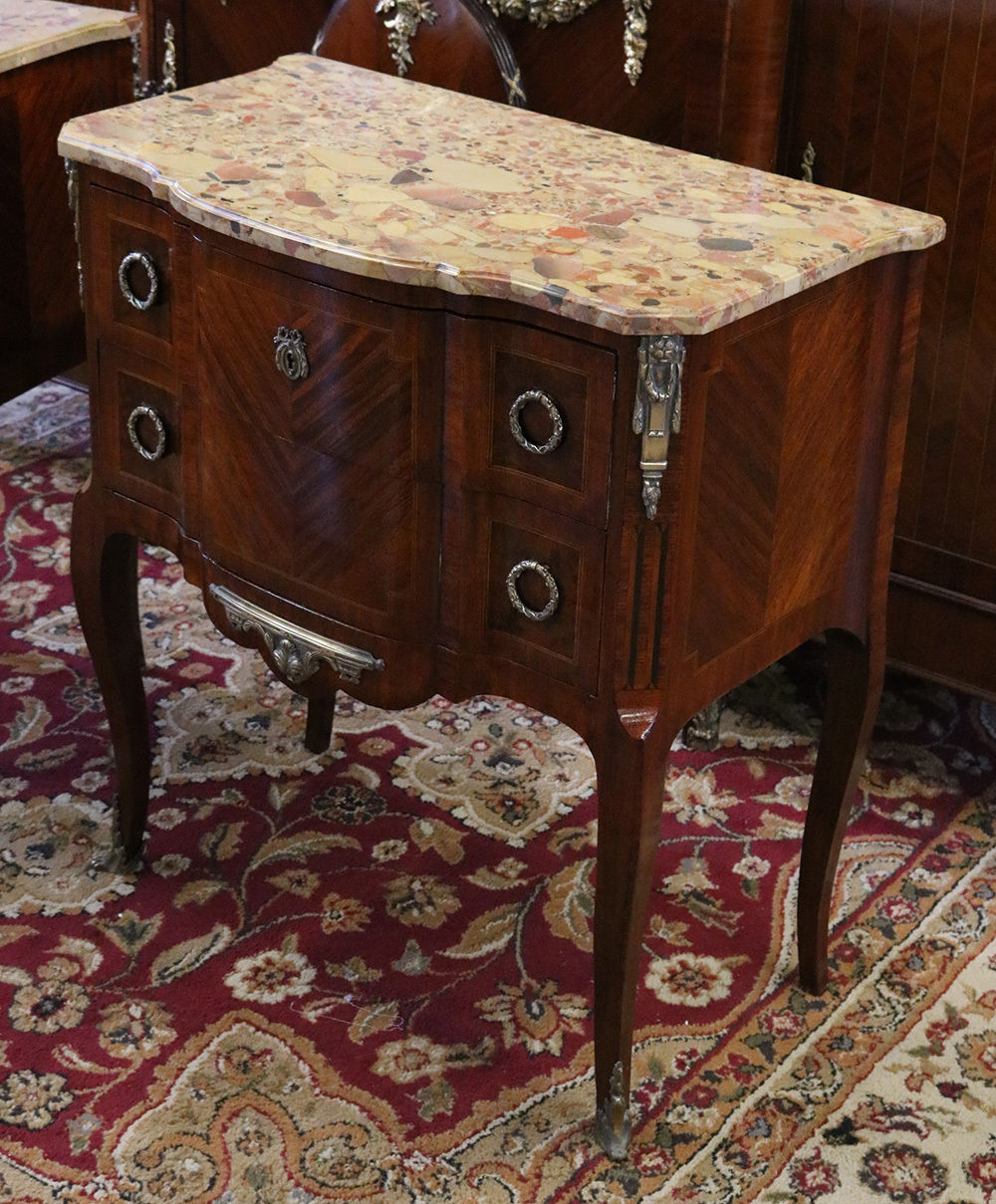 Antique Stands End Tables . 18 Inch Wide Nightstand ...