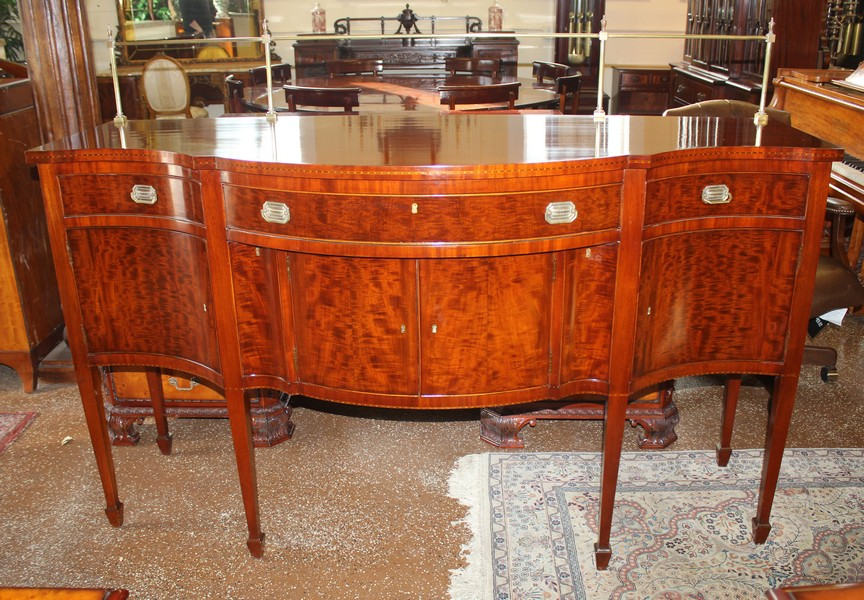 Superb Banded Inch Wide Banded Mahogany Banquet Dining Conference - Antique conference table