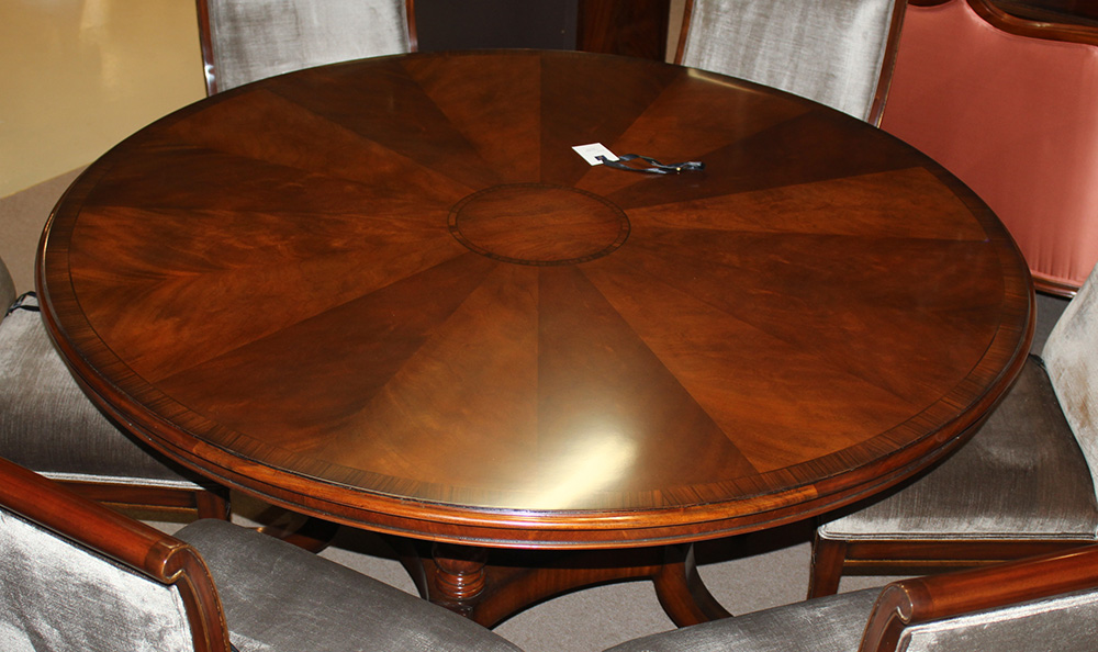 Gorgeous Flame Mahogany Conference, 72 Inch Round Conference Table